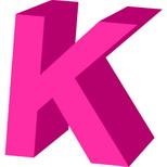 Felicitari muzicale cu nume: Litera K
